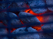 Charcoal grill. Royalty Free Stock Photography