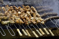 Charcoal Grill Stock Photography