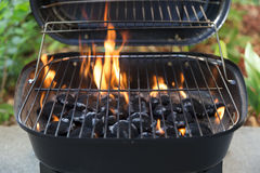 Charcoal grill Stock Photo
