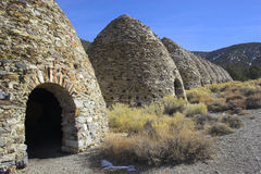 Charcoal Kilns Stock Photo