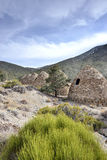 Charcoal Kilns in Death Valley NP Royalty Free Stock Images