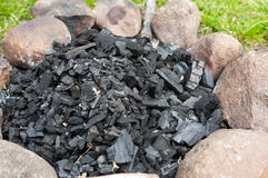 Charcoal Stock Image