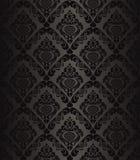 Charcoal seamless wallpaper - style retro. Stock Photos