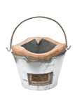 The Charcoal Stove Of Thai Style. Royalty Free Stock Photography
