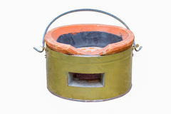 Charcoal stove for traditional cooking Royalty Free Stock Images