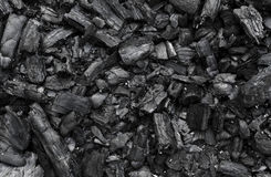 Charcoal texture Stock Photos