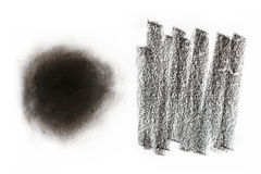 Charcoal texture. Can be apply for background Royalty Free Stock Photography