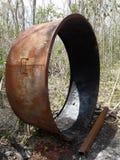 Charcoal tool made of metal Stock Photos