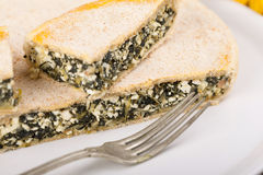 Chard Pie Pieces Stock Images