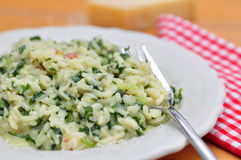 Chard Risotto Stock Photography