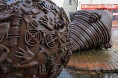 CHARD, SOMERSET/UK - MARZEC 22: Rzeźba Neville Gabie w Ch Zdjęcia Royalty Free