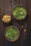 Chard Soup Royalty Free Stock Image