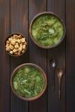Chard Soup Royalty Free Stock Image