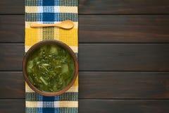 Chard Soup Stock Photo