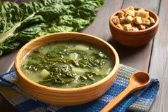 Chard Soup Stock Photos
