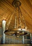 chardelier oryginału s kształta koło Obrazy Royalty Free