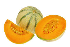 Charentais-Melon Stock Photos