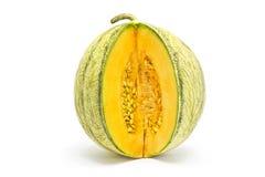 Samenlose gelbe wassermelone stockbild bild von wei for Melone charentais