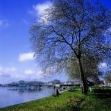 charente河rochefort 库存图片