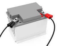Charge a battery Royalty Free Stock Photography