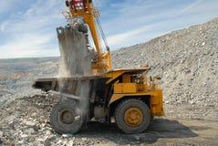Charge de minerai de fer Photographie stock