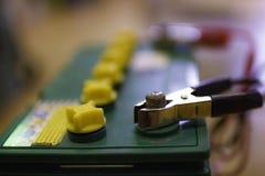 Charge négative de câble de pullover d'électrode Photographie stock libre de droits
