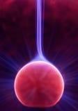 Charge verticale de plasma Photo libre de droits