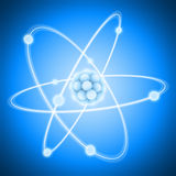 Charged Atom Royalty Free Stock Images