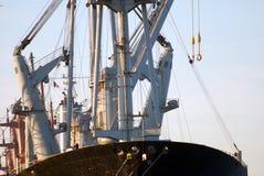 Chargement d'un seaship Image stock