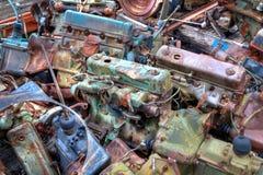 Chargement de camion des engines Image stock