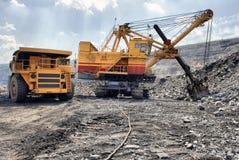 Chargement de minerai de fer Photographie stock libre de droits
