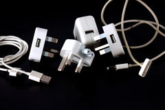 The charger adapter Stock Images