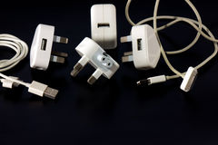 The charger adapter Royalty Free Stock Photos