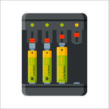 Charger battery energy electricity tool vector illustration. Stock Photo