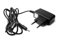 Charger with cable Royalty Free Stock Images