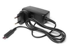 Charger with cable Stock Image