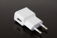 Charger for mobile phone Stock Image