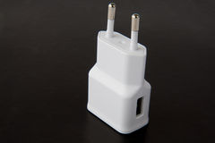 Charger for mobile phone Stock Photos