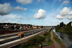 Charger-sur-Trent Image libre de droits
