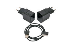 Charger for usb devices Stock Image