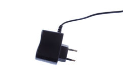 Charger for usb devices with wire and connector Royalty Free Stock Photo