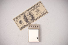 Charges en gaz Bill image stock