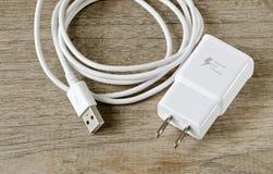 Chargeur d'adaptateur photos stock