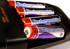 chargeur de batterie Images stock