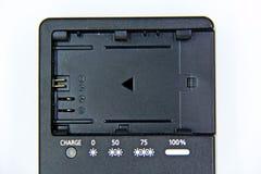 Chargeur de batterie pour l'appareil-photo Image stock