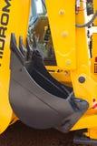 Chargeur de frontal diesel jaune image stock