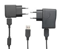 Chargeur de Smartphone USB Image stock
