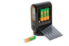 Chargeur moderne de puissance de batterie Images libres de droits