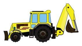 chargeurs d'ฺBackhoe illustration libre de droits
