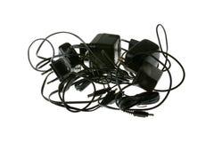 Chargeurs de batterie photos stock